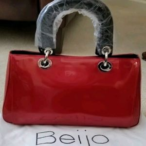 Beijo TOUCH OF FLAIR Lipstick Red with Black NWT
